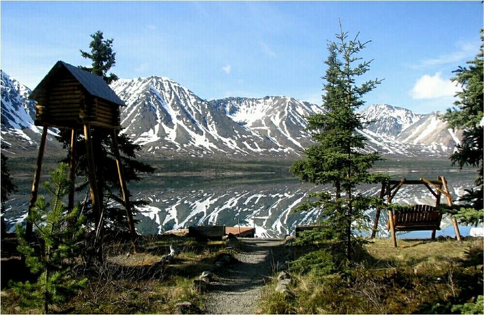 Twin Lakes Alaska Wilderness Cabin In Lake Clark National Park
