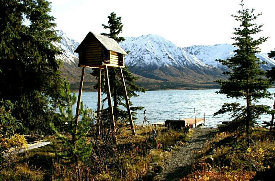 Twin Lakes Alaska Wilderness Cabin In Lake Clark National Park